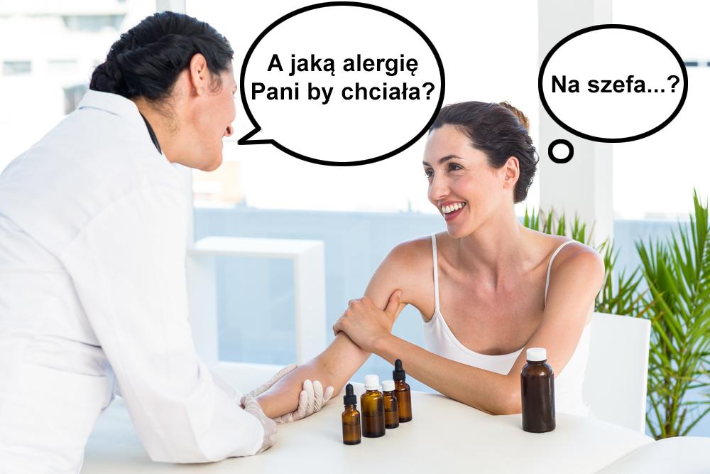 Alergie test skórny